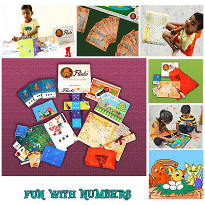 Kids subscription box - Flinto's Fun With Numbers