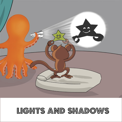 Kids subscription box - Flinto's Lights & Shadows