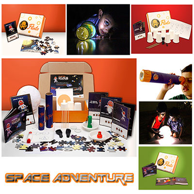 Kids subscription box - Flinto's Space Adventure