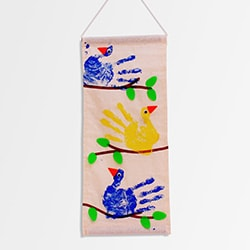 Flintobox Bird Watcher - Handprint Birds