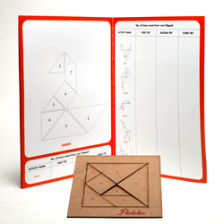 Flintobox Creative Mathematician - Tangram Mania