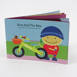 Flintobox Little Transporter - Emo And The Bike