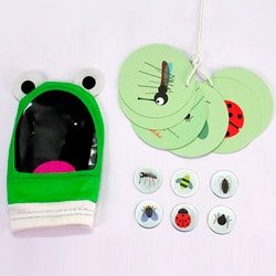 Flintobox Magical Insects - Feed The Frog
