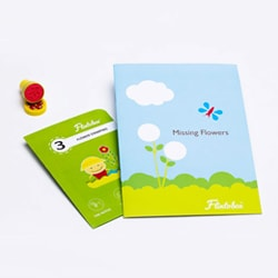 Flintobox Nature Detective - Flower Stamping