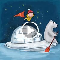 Arctic Explorer - Flintobox Theme