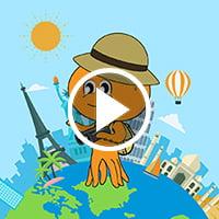 Around The World - Flintobox Theme