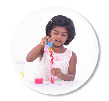 Science experiments for children from Flintobox