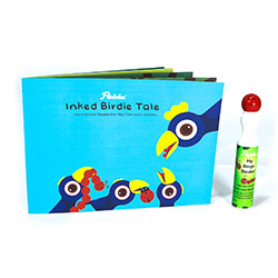 Flintobox Beautiful Birds - Inked Birdie Tale
