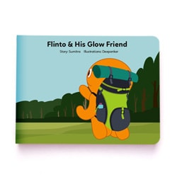 Flintobox Incredible Insects -  Flinto & His Glow Friend