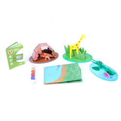 Flintobox Jungle Adventurer - Animals & Habitats