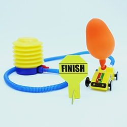 Flintobox The Little Scientist - Balloon Car