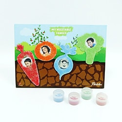 Flintobox Healthy Little Champ - My Vegetable Family