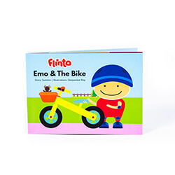 Flintobox Transport Adventure - Emo And The Bike