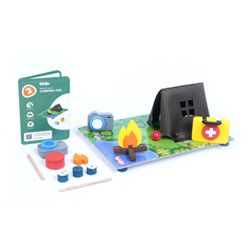 Flintobox Wildlife Safari - Camping Fun