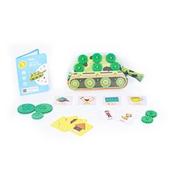 Flintobox Wonderful  Vehicles - The Letter Building Tank